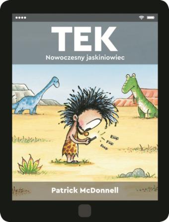 tek_nowoczesny_jaskiniowiec_okladka_ksiazki