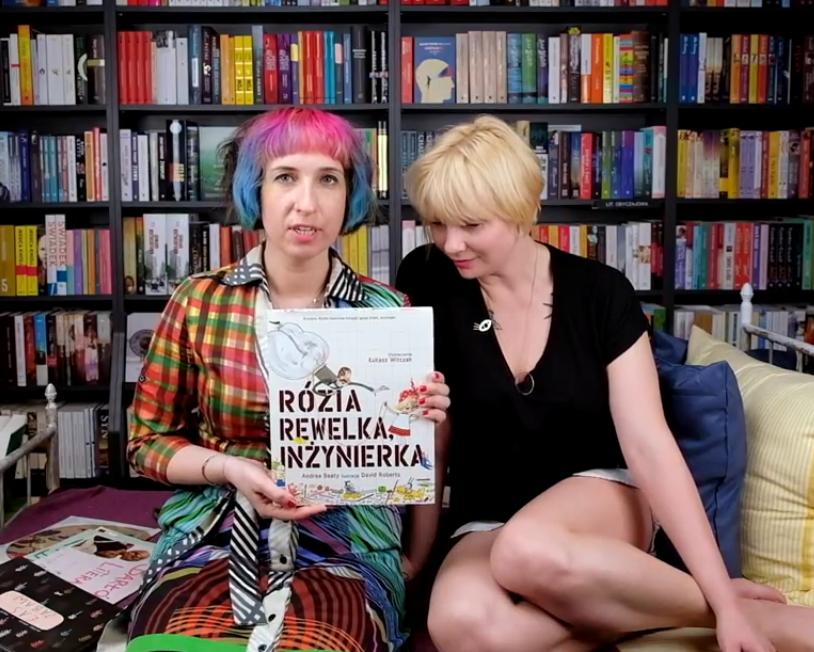Rózia Rewelka w Barłogu Literackim