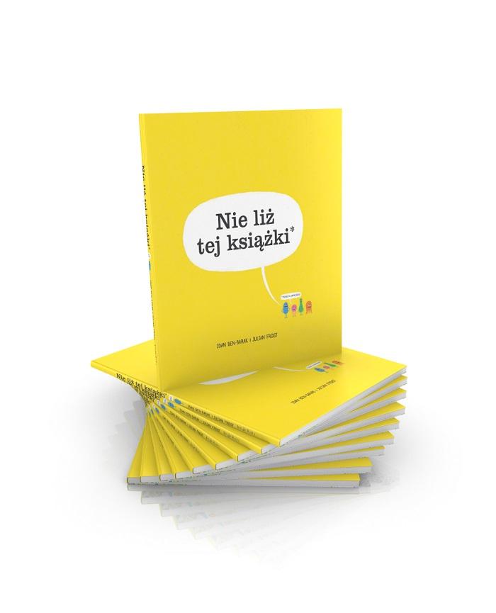 """""""Nie liż tej książki"""" w drukarni"""
