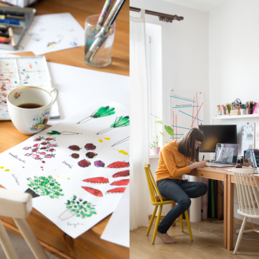Przede wszystkim nie dorastać, czyli Joanna Bartosik o pracy ilustratorki…
