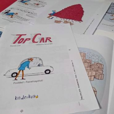 """""""Top Car"""" w drukarni"""