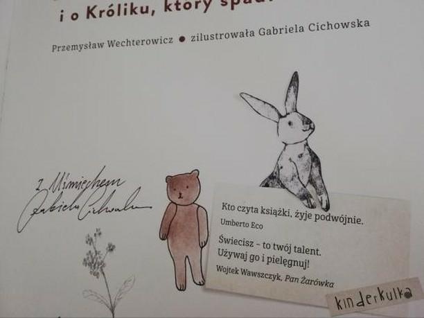 Kinderkulka_autograf_Gabriela_Cichowska_Basn_o_zaczytanym_niedzwiedziu