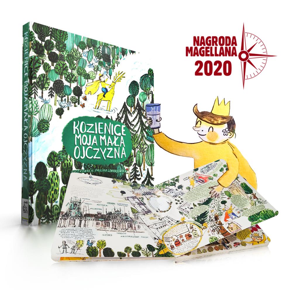 """Nagroda Magellana 2020 – wyróżnienie dla książki """"Kozienice. Moja mała ojczyzna"""""""