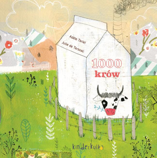 1000 krów okładka Kinderkulka